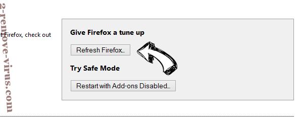 fastandprettysearch.com Firefox reset