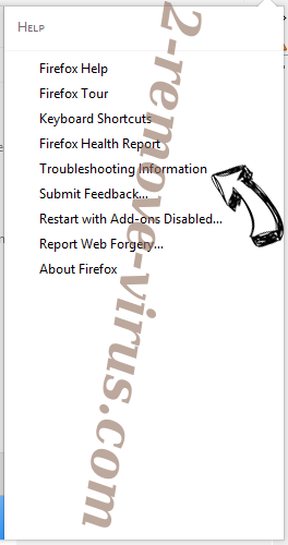 HDSportSearchs Firefox troubleshooting