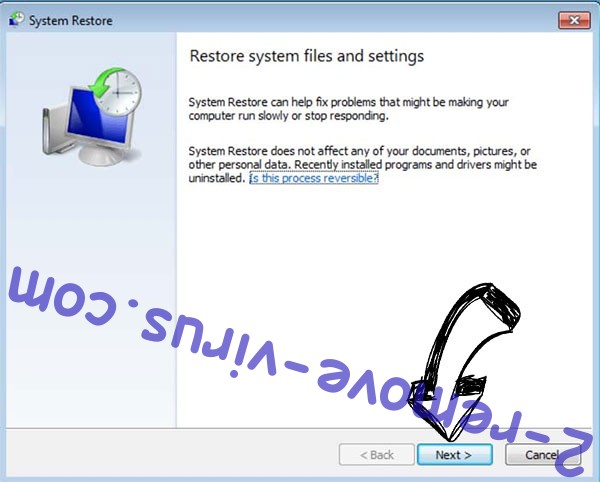 Get rid of .nesa extension virus - restore init