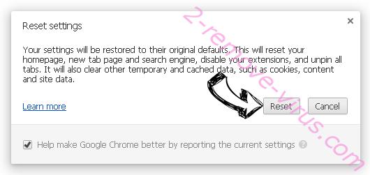 Safari-protection.com Chrome reset
