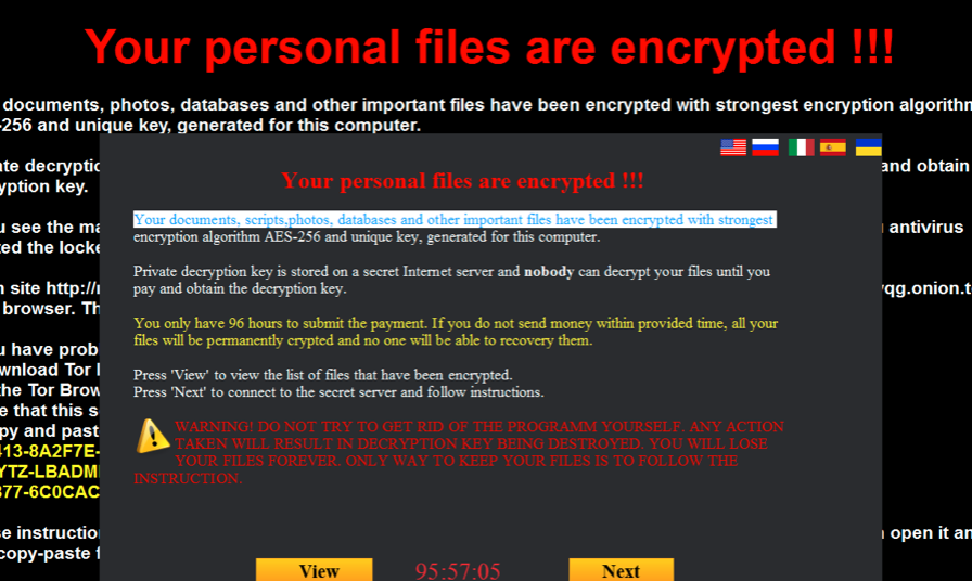 Exotic Ransomware
