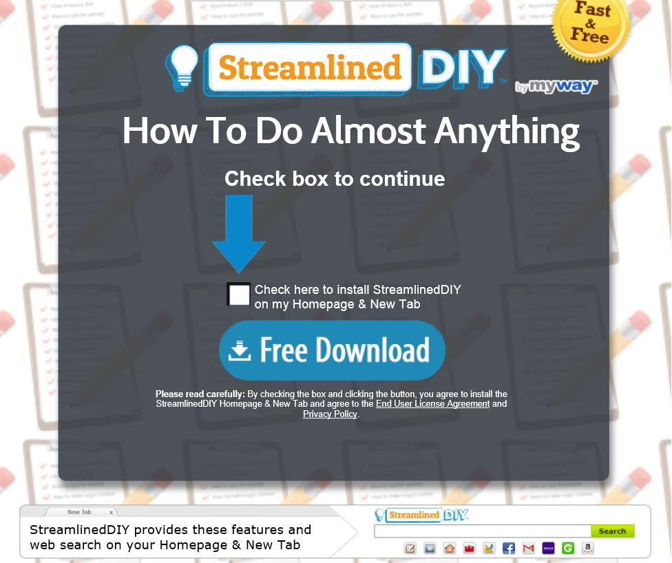 StreamlinedDIY Toolbar