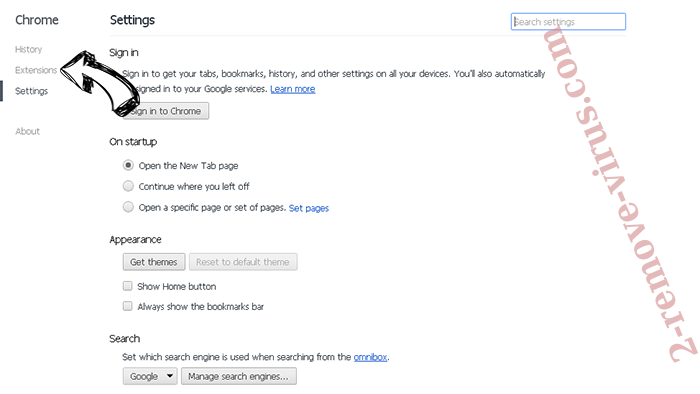 go4news.biz Chrome settings