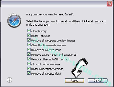 Survey.9720.ws Safari reset
