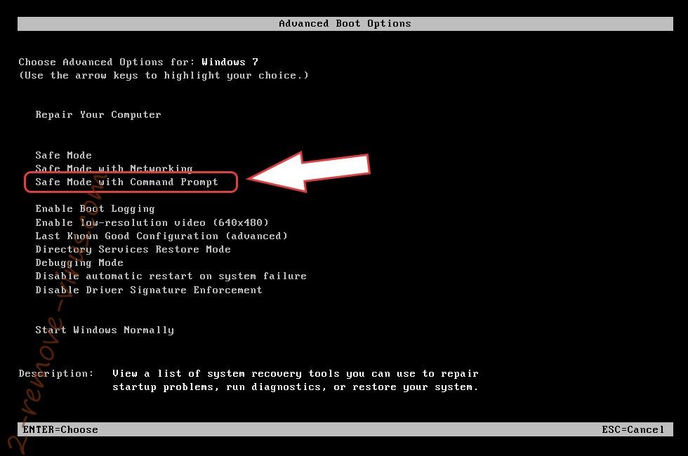 Remove BazarLoader backdoor trojan - boot options