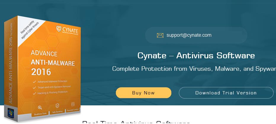 Cynate Antivirus