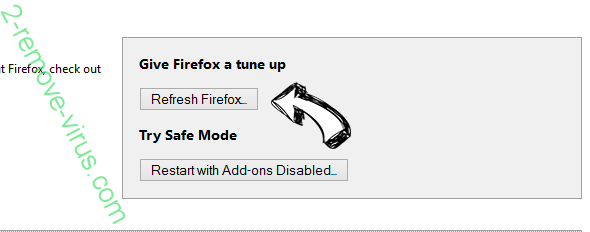 Alphashoppers.co Firefox reset