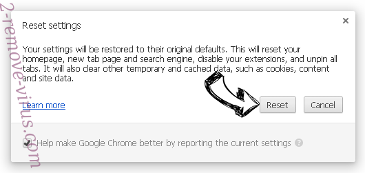Suppression de Wibeez.com Chrome reset