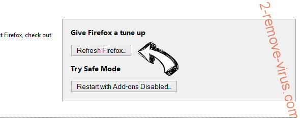 Like Of The Year adware Firefox reset