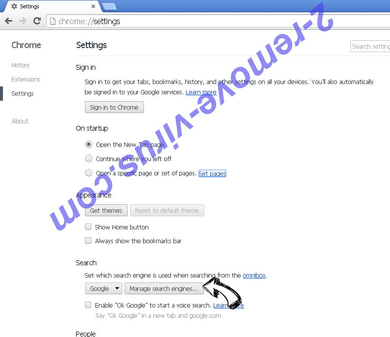 Ultra Sports Search Chrome extensions disable