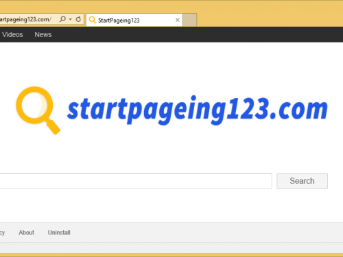 Supprimer StartPageing123.com