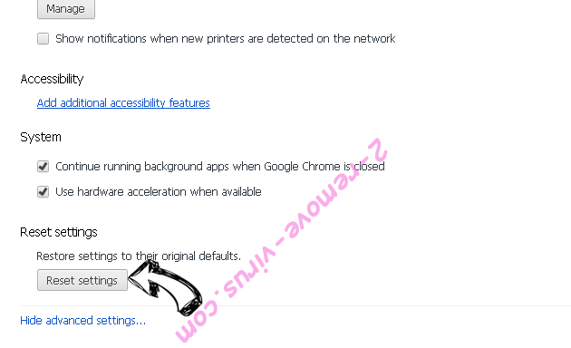 GifsGalore New Tab Chrome advanced menu