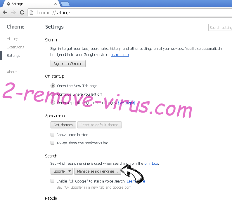 GifsGalore New Tab Chrome extensions disable