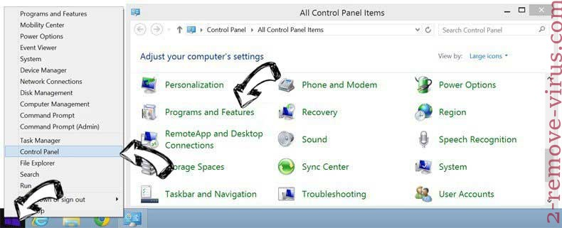 Delete Easy Package Tracking from Windows 8