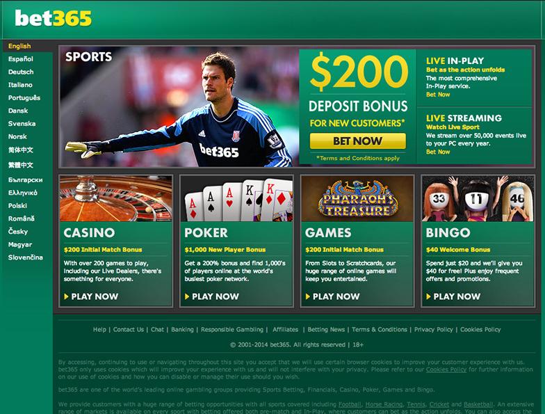 bet365 sports casino