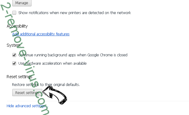 Monconvertisseur.com Chrome advanced menu