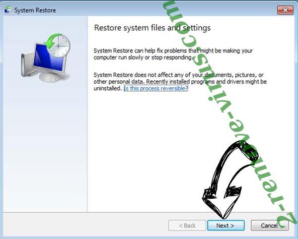 Get rid of SDfghjkl ransomware - restore init