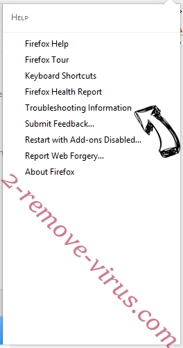 Remove ThreadProperty Firefox troubleshooting