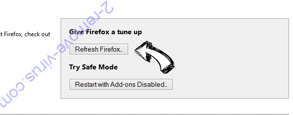 Fake flash player update Firefox reset
