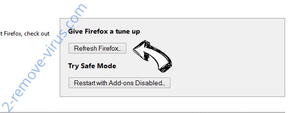 Yahoo Toolbar virus  Firefox reset