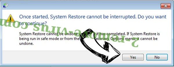 Napoli Merda Virus removal - restore message