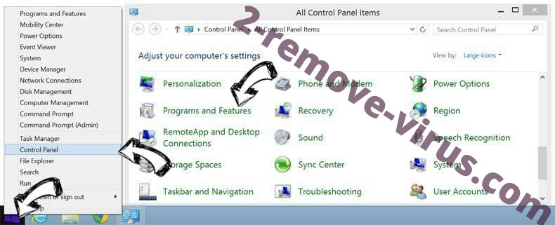 Delete Belonard Trojan from Windows 8