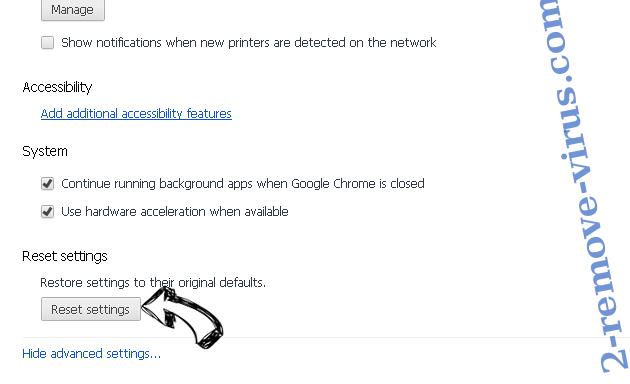 Journal-all.org Chrome advanced menu