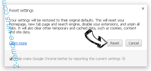 Gwaye.com Chrome reset