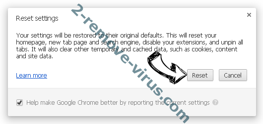 Search.searcheasysta.com Chrome reset