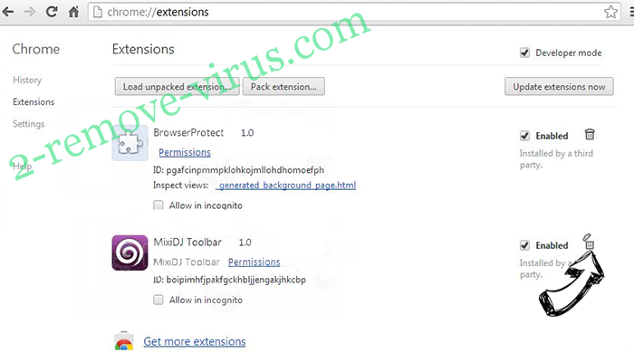 DarkGate virus Chrome extensions remove