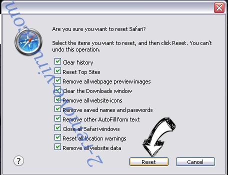 Outbyte PC Repair Safari reset