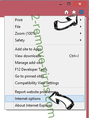 1 Click PDF Malware IE options