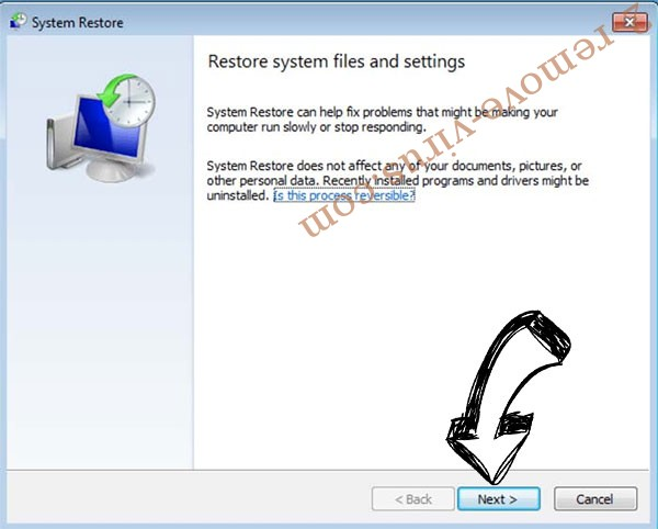 Get rid of GAmmAWare ransomware - restore init