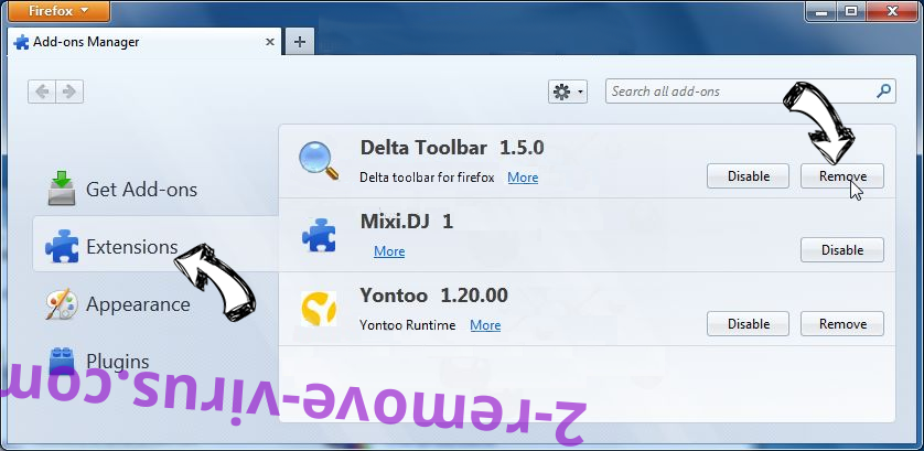 Romagetukio.club Firefox extensions