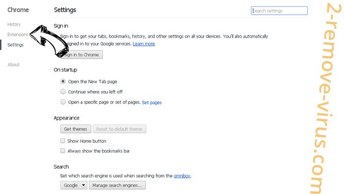 Wod007.com Chrome settings