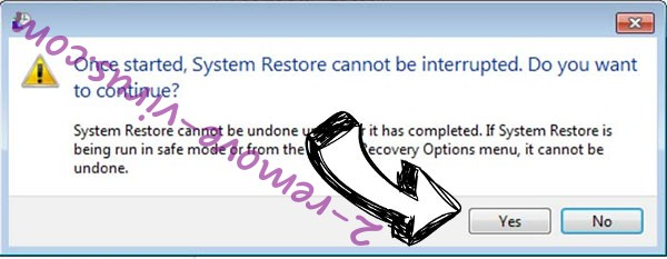 .btc file virus removal - restore message