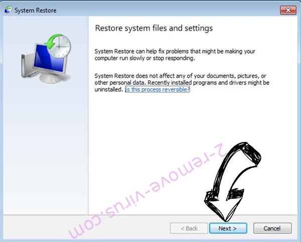 Get rid of Bomba ransomware - restore init