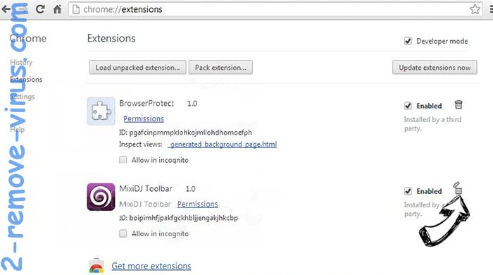QuericsSearch Chrome extensions remove