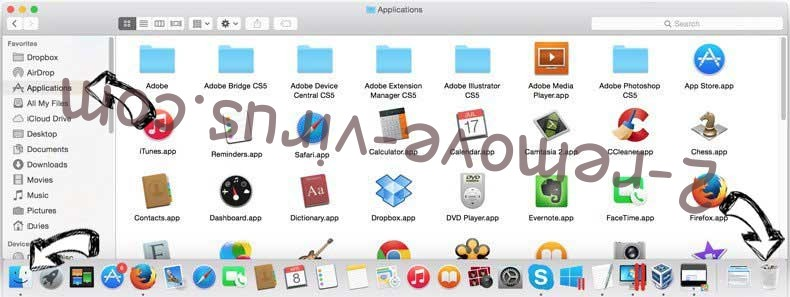 QuericsSearch removal from MAC OS X