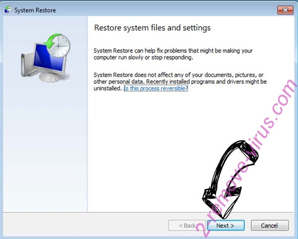 Get rid of Armageddon ransomware - restore init