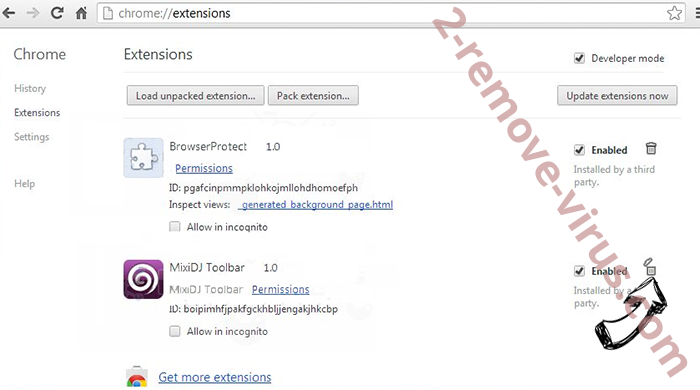 Search.clarobuscar.com Chrome extensions remove