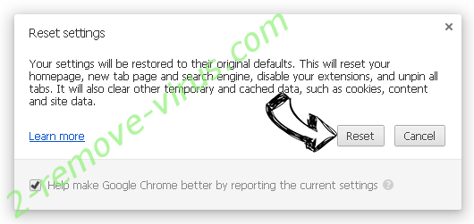 Hmysearchassistance.com Chrome reset
