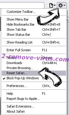 Search.clarobuscar.com Safari reset menu