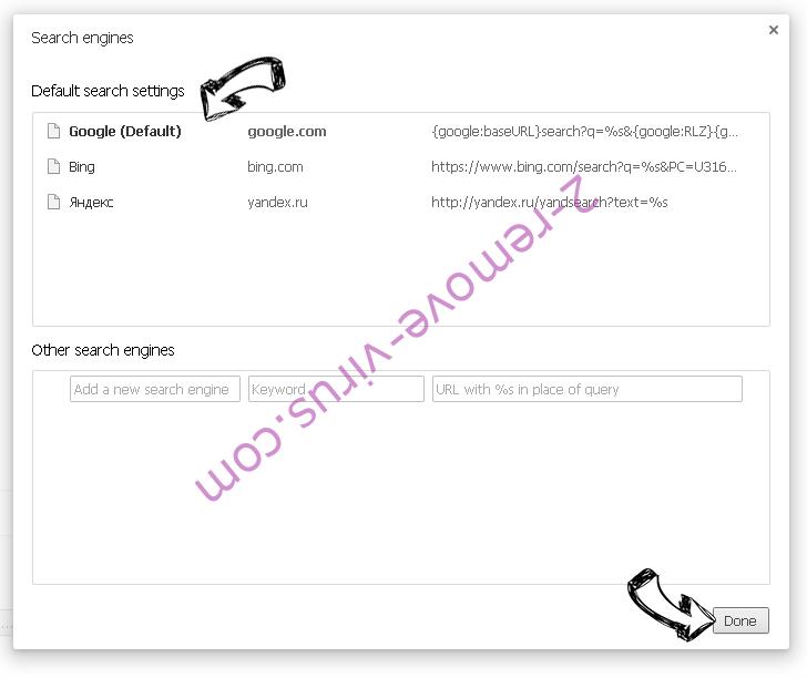 Alhea.com hijack Chrome extensions disable