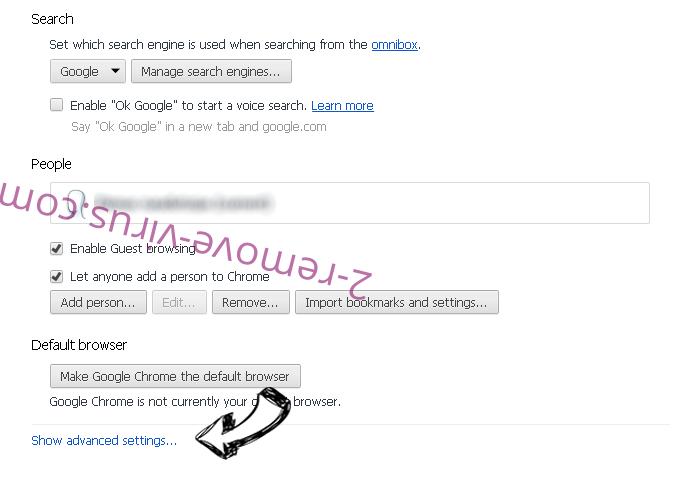Alhea.com hijack Chrome settings more