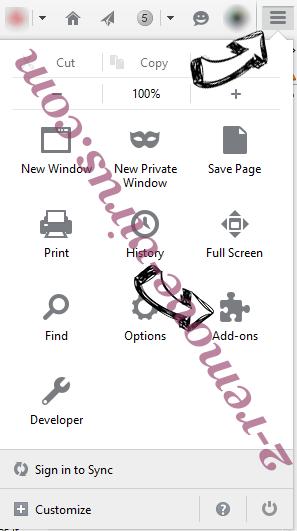 Alhea.com hijack Firefox add ons