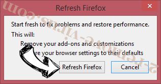Alhea.com hijack Firefox reset confirm