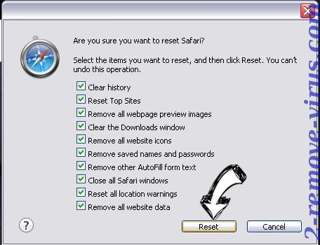 Alhea.com hijack Safari reset