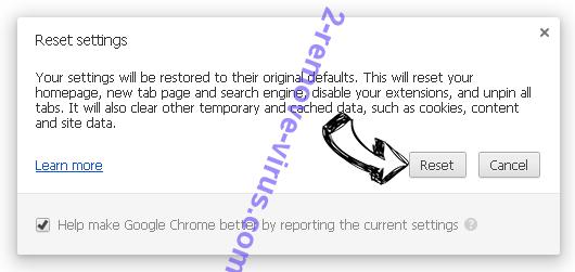 Pup.optional.trovi Chrome reset