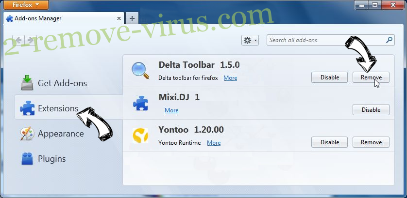Robotcaptcha2.info Firefox extensions